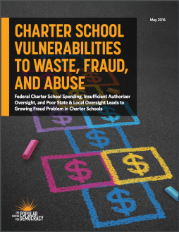 Charter School Vulnerabilities To Waste, Fraud, and Abuse:
