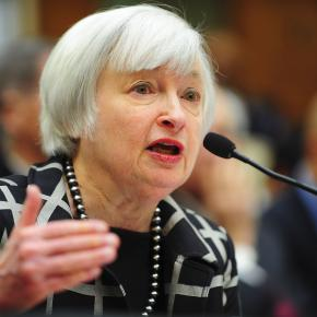 Janet Yellen talking