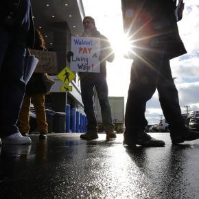 Walmart workers demand respect